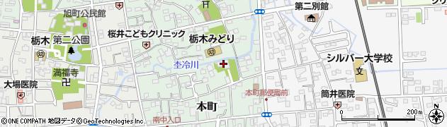 長清寺周辺の地図