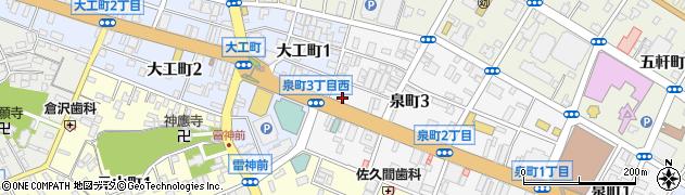 人形の高畑周辺の地図