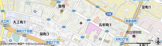 水戸京成パーキングプラザ周辺の地図
