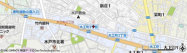 メグミルク大工町販売所周辺の地図