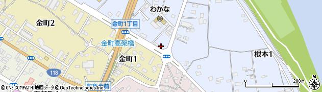 新日本交通 鈑金工場周辺の地図