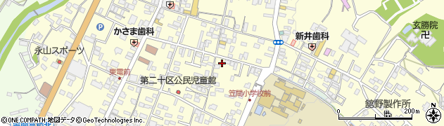 富永小鳥店周辺の地図