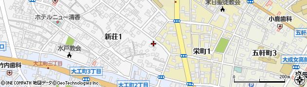 茨城県社会福祉事業協力会周辺の地図