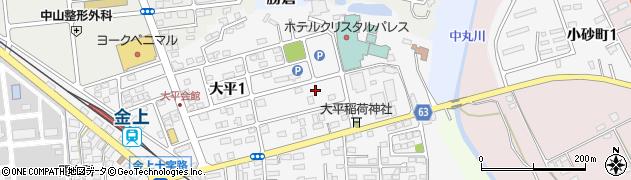 グリーンブルー株式会社周辺の地図