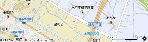 日本郵便輸送株式会社 水戸営業所周辺の地図