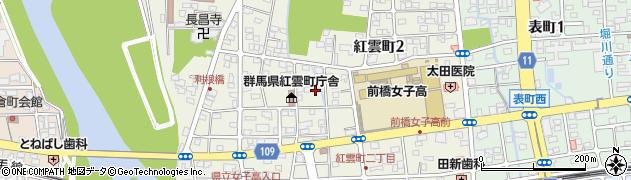巌島神社周辺の地図