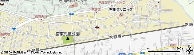 茨城県水戸市東赤塚周辺の地図