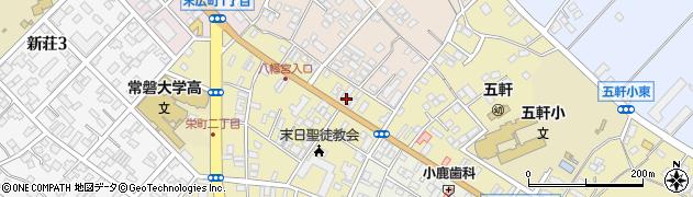飯村不動産周辺の地図