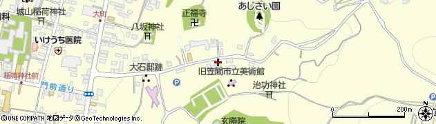 大島種芸店周辺の地図