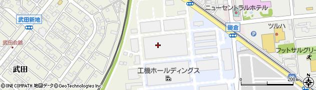 日立工機株式会社 勝田工場人事総務部人事勤労周辺の地図