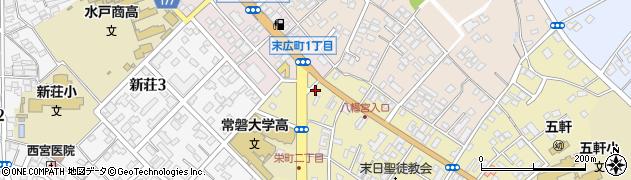 いづみ美容室周辺の地図