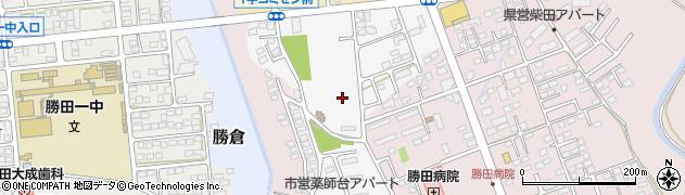 薬師台団地周辺の地図