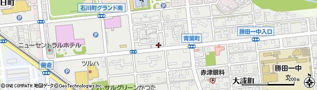 茨城県ひたちなか市青葉町周辺の地図