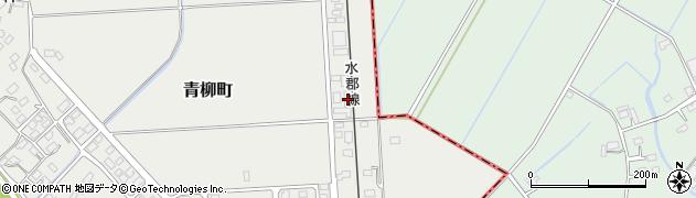 カラス周辺の地図