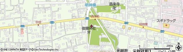 総社神社周辺の地図