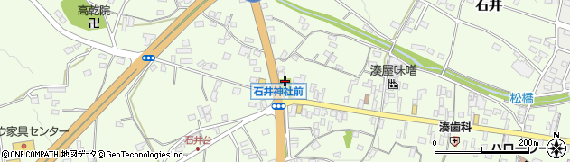 石井神社周辺の地図
