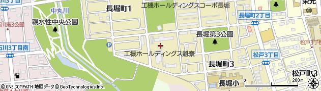 日工魁寮周辺の地図