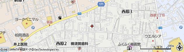 有限会社阿部商店 本社周辺の地図