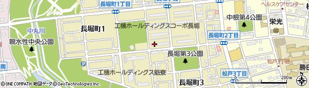 茨城県ひたちなか市長堀町周辺の地図