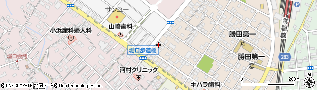 メガネのヤマザキ周辺の地図