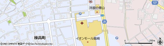 イオンシネマ高崎周辺の地図