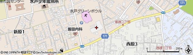 創価学会茨城文化会館周辺の地図