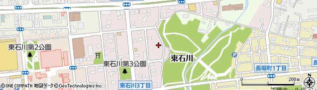 石川薬師堂周辺の地図