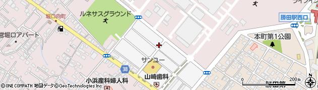 茨城県ひたちなか市勝田中原町周辺の地図