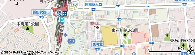 有限会社武石時計店周辺の地図