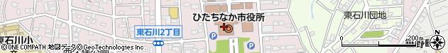茨城県ひたちなか市周辺の地図