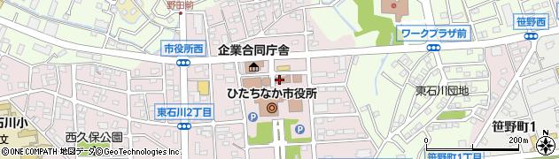 株式会社茨城計算センター ひたちなか事業所周辺の地図