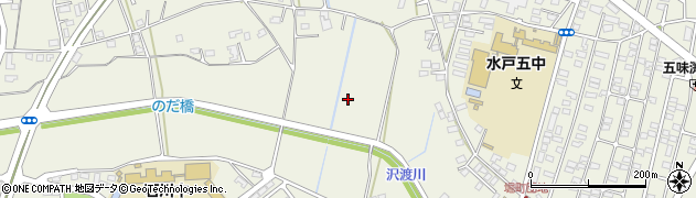 茨城県水戸市堀町周辺の地図