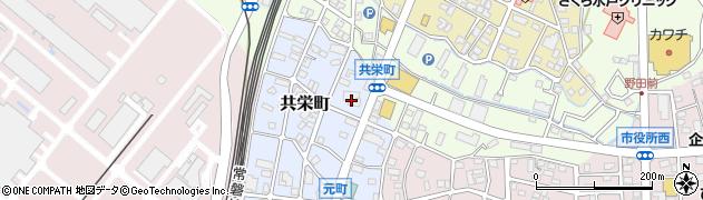 ギャラリーサザ周辺の地図