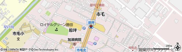 原坪周辺の地図