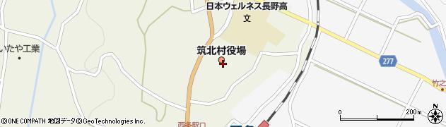 長野県筑北村(東筑摩郡)周辺の地図