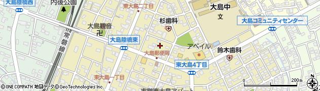 茨城県ひたちなか市東大島周辺の地図