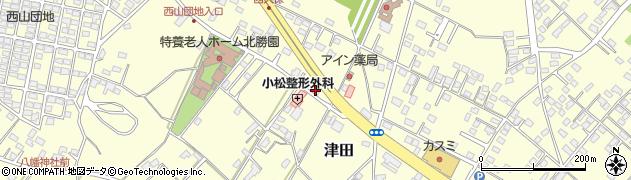 五位渕理容所周辺の地図
