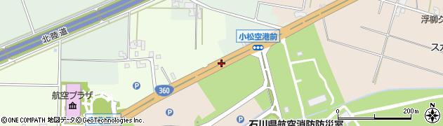 一般国道360号周辺の地図