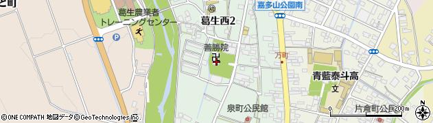 善勝院周辺の地図