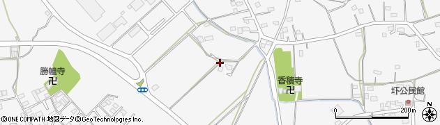 茨城県水戸市渡里町周辺の地図