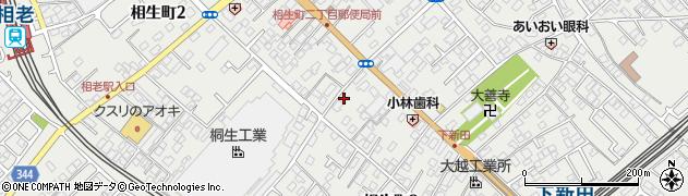 群馬県桐生市相生町2丁目767-7周辺の地図