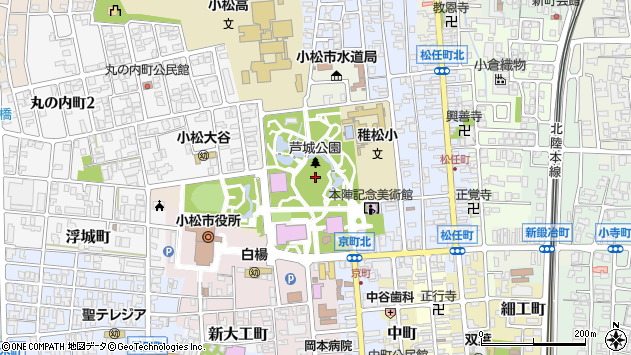 石川県小松市丸の内町 郵便番号 923 0903 マピオン郵便番号