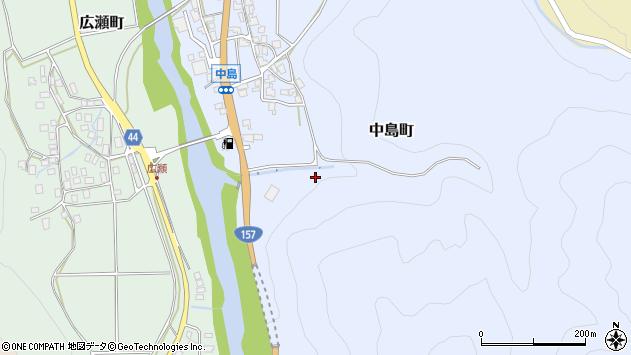 〒920-2116 石川県白山市中島町の地図