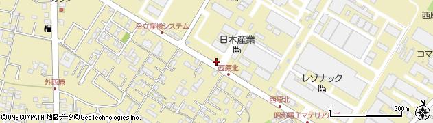 日木産業株式会社 ひたちなか営業所周辺の地図