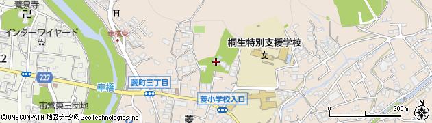 文昌寺周辺の地図