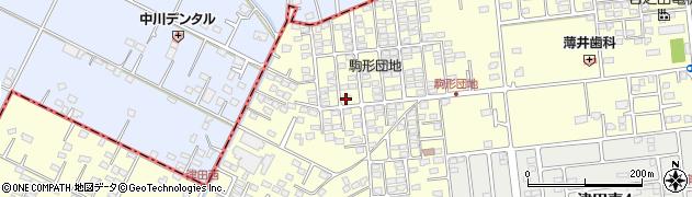 かおり美容室周辺の地図