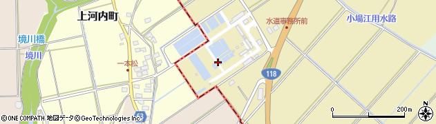 茨城県那珂市上河内周辺の地図