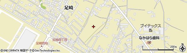 茨城県ひたちなか市足崎周辺の地図