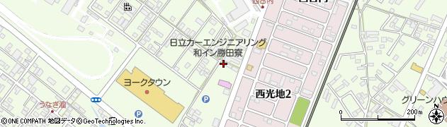 前田道路株式会社勝田営業所周辺の地図