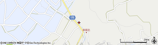 瀧水寺周辺の地図